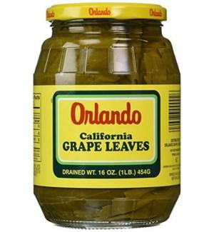 ORLANDO GRAPE LEAVES 16 OZ