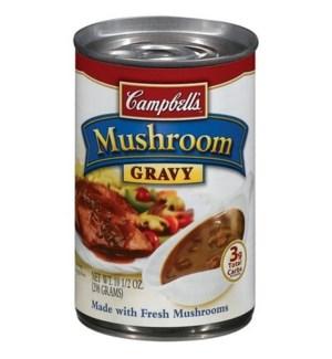 CAMPBELLS GRAVY MUSHROOM 10.5OZ