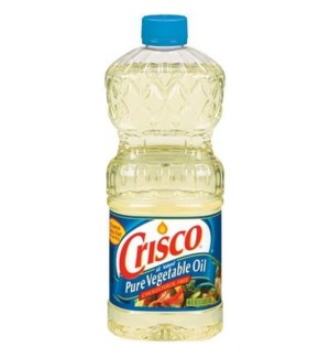 CRISCO PURE VEGETABLE OIL 48OZ