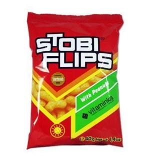 STOBI FLIPS WITH PEANUTS 40 G