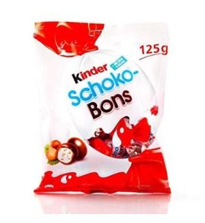 KINDER SCHOKO BONS 125 G