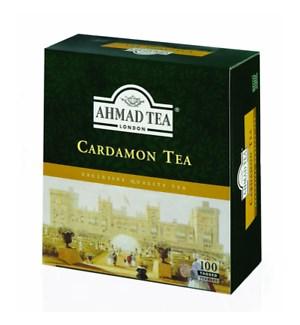AHMAD CARDAMON TEA BAG 100CT