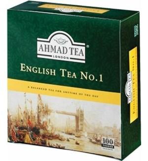 AHMAD ENGLISH NO.1 100CT TAG