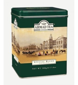 AHMED SPECIAL BLEND TEA W/ EARLGREY 500G TIN