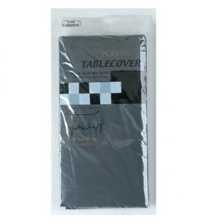 FLOMO PLASTIC TABLECOVER BLACK