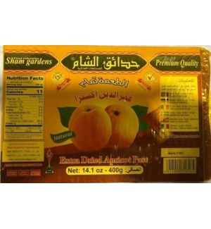 SHAM GARDENS EX DRIED APRICOT PASTE 400 G