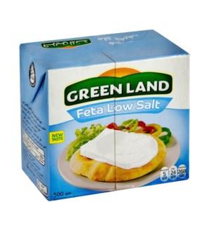 GREENLAND FETA LOW SALT 500G