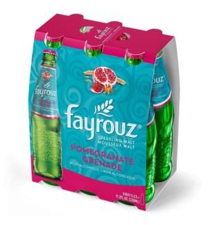FAYROUZ POMEGRANATE SPARKLING DRINK 6PK