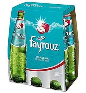 FAYROUZ RED APPLE DRINK 6PK