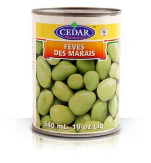 CEDAR GREEN BROAD BEANS 19OZ