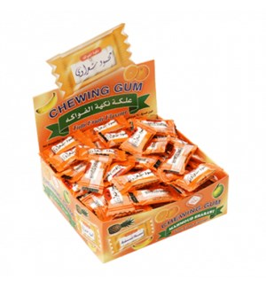 SHARAWI GUM FRUITS FLAVOR 2P 24/CASE