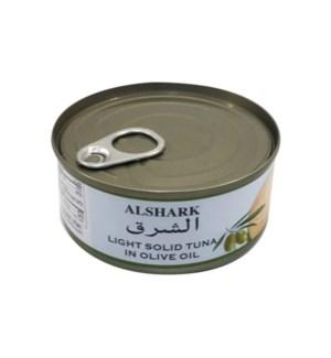 ALSHARK LGHT SOLID OLIVE OIL TUNA 5.5OZ