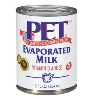 PET EVAPORATED MILK 12 OZ