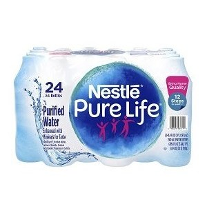 NESTLE PURE LIFE  1WATER 16.9 OZ 24 CT