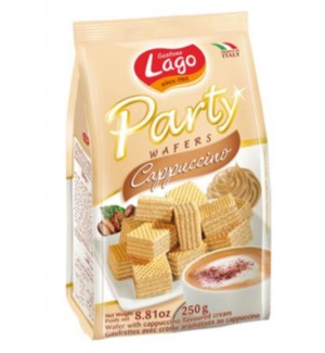 ELLEDI CAPPUCCINO PARTY WAFER BAGS 250 G 10/CASE