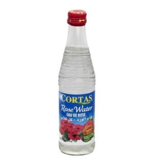 CORTAS ROSE WATER 10 OZ