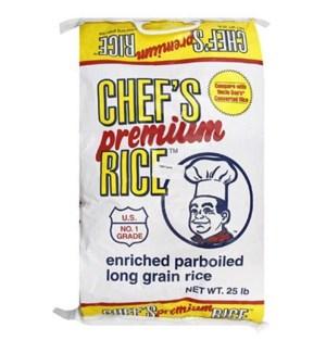 CHEF'S PREMIUM RICE 25 LBS 1/CASE