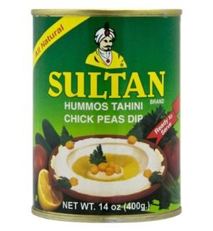 SULTAN HUMMOS TAHINI 14OZ
