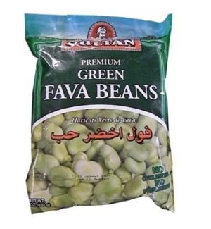 SULTAN FROZEN GREEN FAVA BEANS 400 G