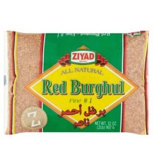 ZIYAD RED BURGHAL FINE #2 32 OZ