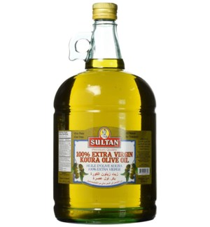 SULTAN EX VIRGIN KOURA OLIVE OIL GLASS 3 L
