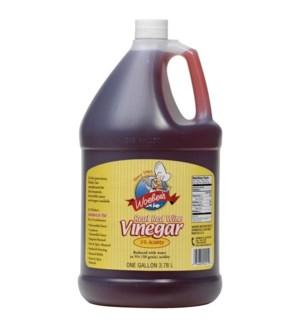 WOEBER REAL RED WINE VINEGAR 5% GALLON
