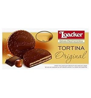 LOACKER PASTICCERIA TORTINA 125 G 12/CASE