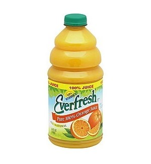 EVERFRESH ORANGE JUICE 120% VITAMIN C  64OZ