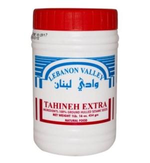 LEBANON VALLEY TAHINI 1LB PLASTIC