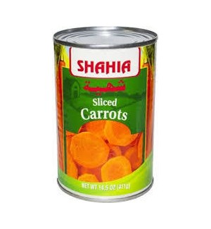 SHAHIA SLICED CARROTS 14.5 OZ