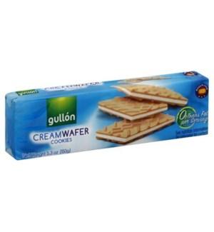 GULLON CREAM WAFER COOKIES 150 G 16/CASE