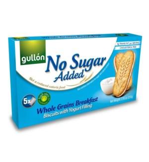 GULLON NO SUGAR ADDED BREAKFAST YOGURT BISCUITS W/WHOLE GRAINS 220 G 8/CASE