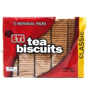 ETI TEA BISCUITS CLASSIC 5*7.05OZ