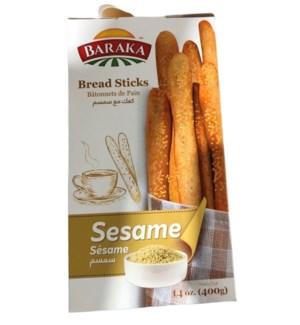 BARAKA SESAME BREAD STICKS 17OZ