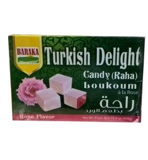 BARAKA ROSE TURKISH DELIGHTS 450 G