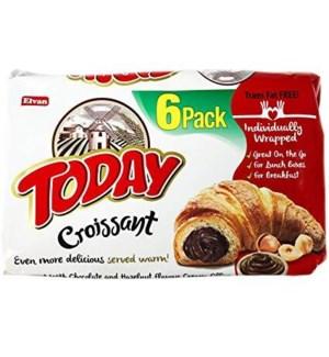 ELVAN TODAY CROISSANT W/CHOCOLATE 6 PK