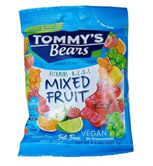 TOMMY'S BEARS MIXED FRUIT 128G