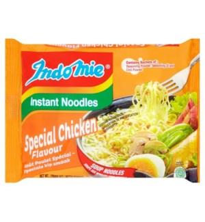 INDOMIE INSTANT NOODLES SPECIAL CHICKEN 70 G