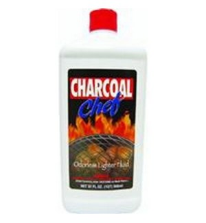 CHEF CHARCOAL LIGHTER FLUID 32OZ  12/CASE
