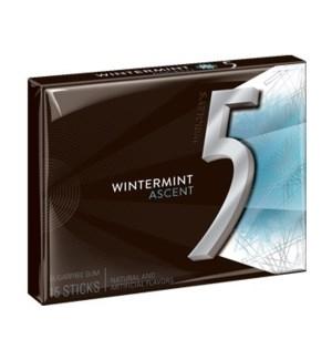 WRIGLEY 5 GUM PTY PK ASCENT WINTERMINT 10 CT