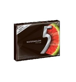 WRIGLEY 5 GUM PTY PK WATERMELON RED/GREEN 10 CT