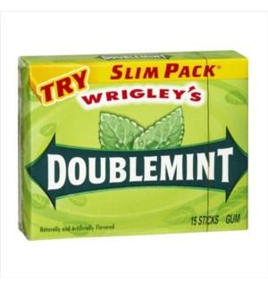 WRIGLEY DOUBLEMINT 15 STICKS