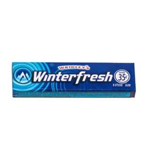 WRIGLEY WINTERFRESH 5 STICKS