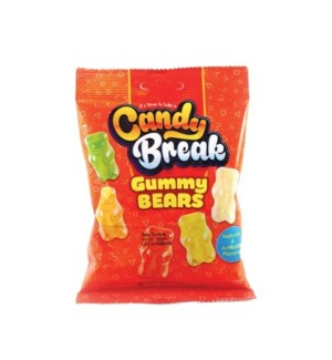CANDY BREAK GUMMY BEARS 4 OZ
