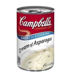 CAMPBELLS CREAM OF ASPARAGUS SOUP 10.75 OZ