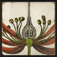 EB Vintage Color Flower I