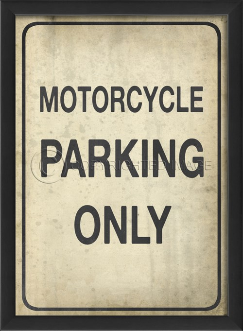 EB Motorcycle Parking Only II