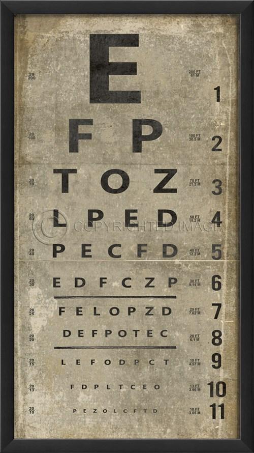EB Eye Chart III