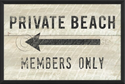 EB Private Beach Members Only Small