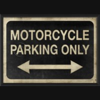 EB Motorcycle Parking Only